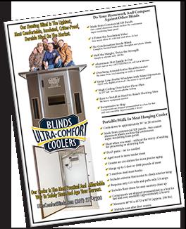 Download Ultra Comfort Blinds & Cooler Flyer
